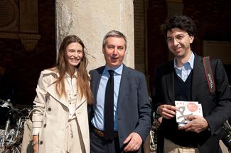 Bianca Balti, Lorenzo Guerini e Andrea Ferrari
