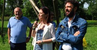 Dario Tripolisi, Claudia Rizzi e Andrea Bruni