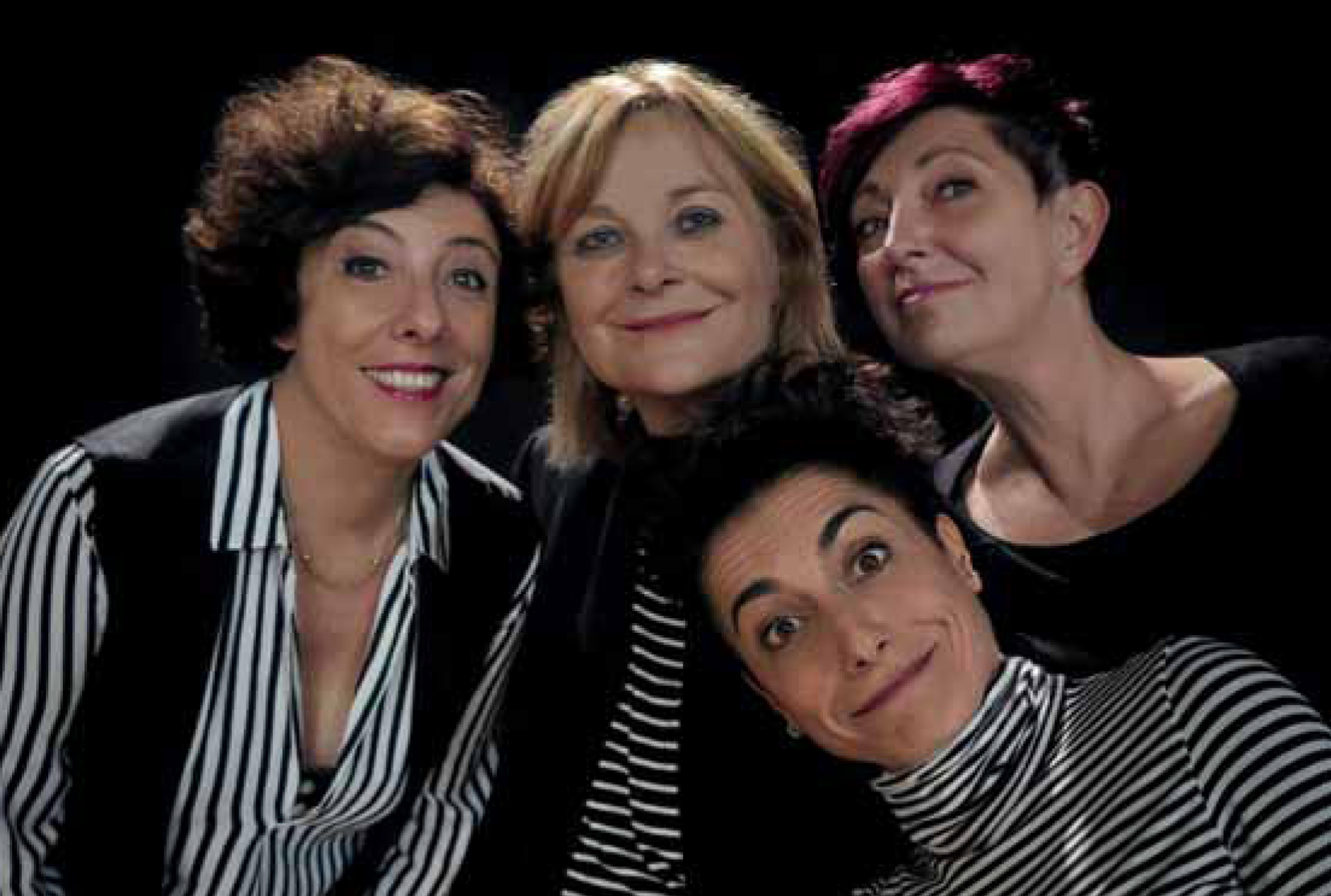 i quattro membri : Lucia Vasini, Alessandra Faiella, Livia Grossi, Rita Peluso