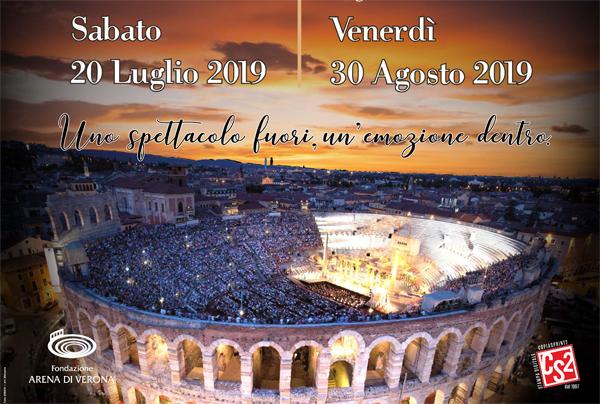 immagine Arena di Verona, dalla locandina