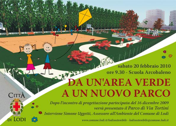 Da unarea verde ad un parco - Comune di Lodi