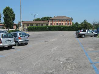 Il parcheggio di via Massena ex CUP