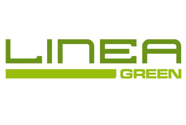 la scritta linea green