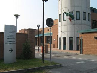 L'entrata dell'Università