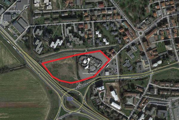 mappa dell'insediamento