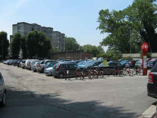 Il parcheggio dell'Ex Macello