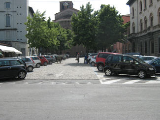 Il parcheggio di Piazza Mercato