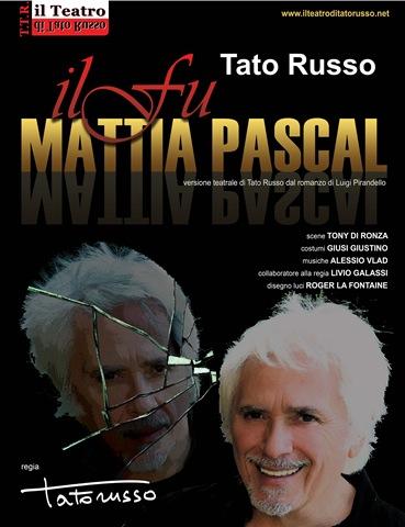 locandina dello spettacolo: primo piano di tato russo