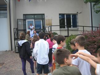 La classe all'ingresso in Caserma