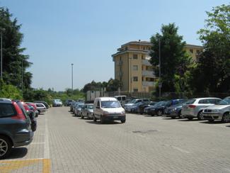 Il parcheggio del Gattino
