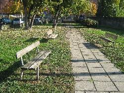 Area sgambamento cani di Via Gandini