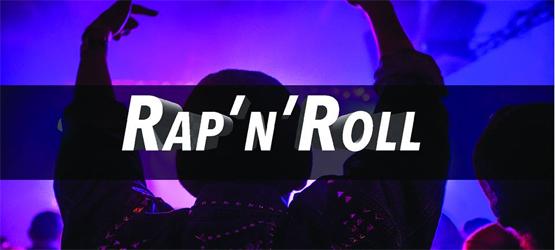 la scritta Rap 'n' Roll