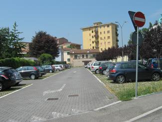 Il parcheggio via Marinai d'Itlaia