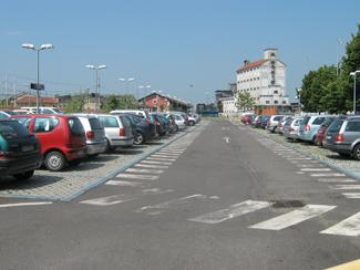 Il parcheggio del Metropark