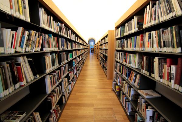 interni della Biblioteca