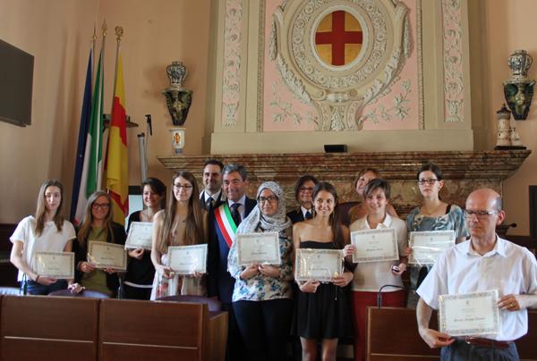 foto dei premiati