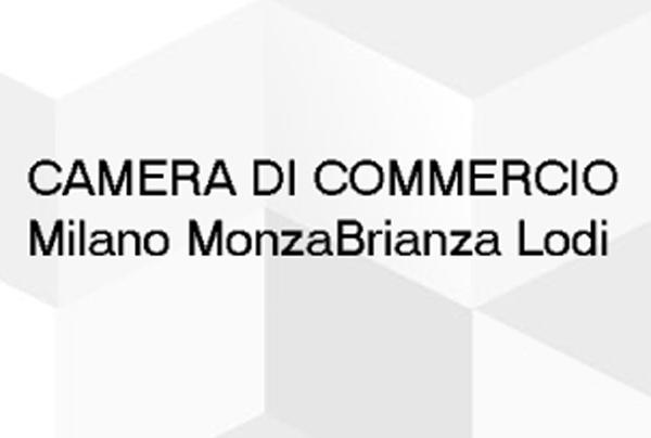 la scritta camera di commercio Milano MonzaBrianza Lodi