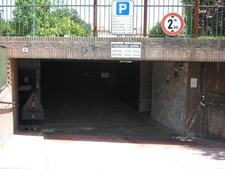 Il parcheggio coperto di Piazzale Matteotti