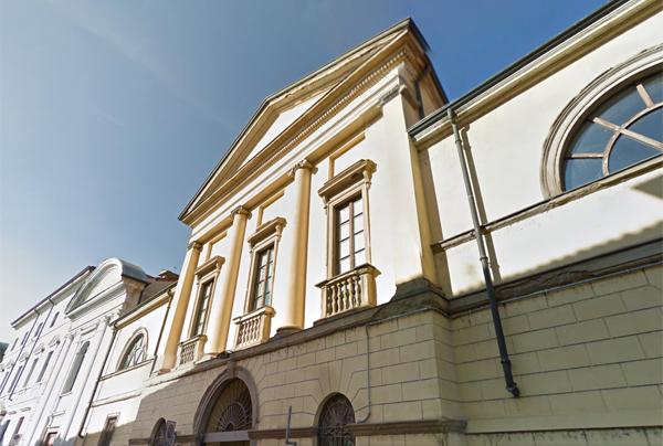 facciata dell'archivio storico