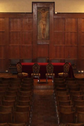 L'Aula Magna del Liceo Verri