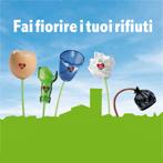 logo della campagna fai fiorire i tuoi rifiuti