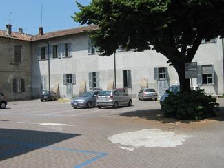 Il parcheggio di via Gorini, 21