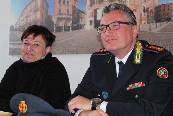 il sindaco casanova e il nuovo comandante germanà