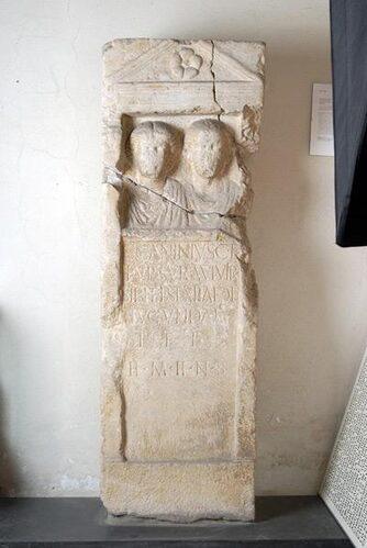 Cippo dedicatorio di Lucio Ostillio