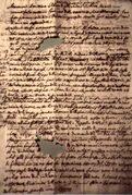 un manoscritto