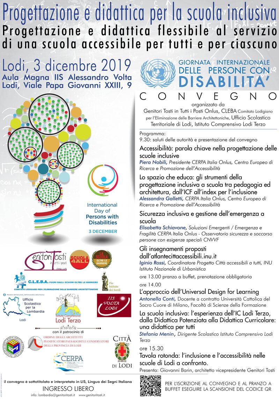 Convegno - Progettazione e didattica per la scuola inclusiva