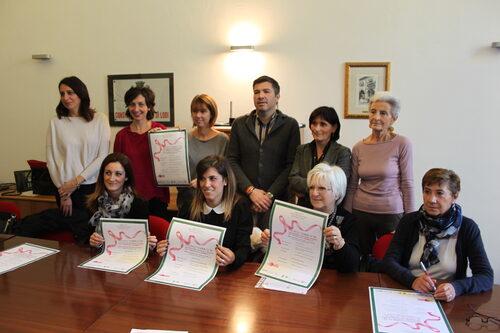foto di gruppo della conferenza stampa