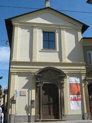 La facciata della Chiesa dell'Angelo