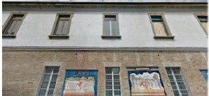 facciata dell'edificio in via Gorini