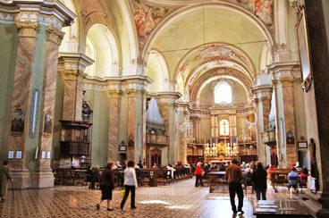 Chiesa della Maddalena - interno