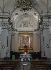 L'interno di Santa Maria del Sole